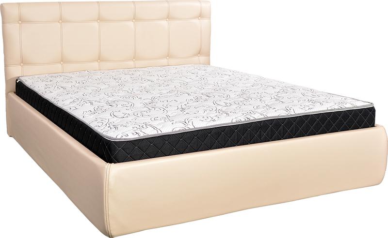 """Каретная кровать """"Лаура"""" с подъемным механизмом и ящиком для белья"""