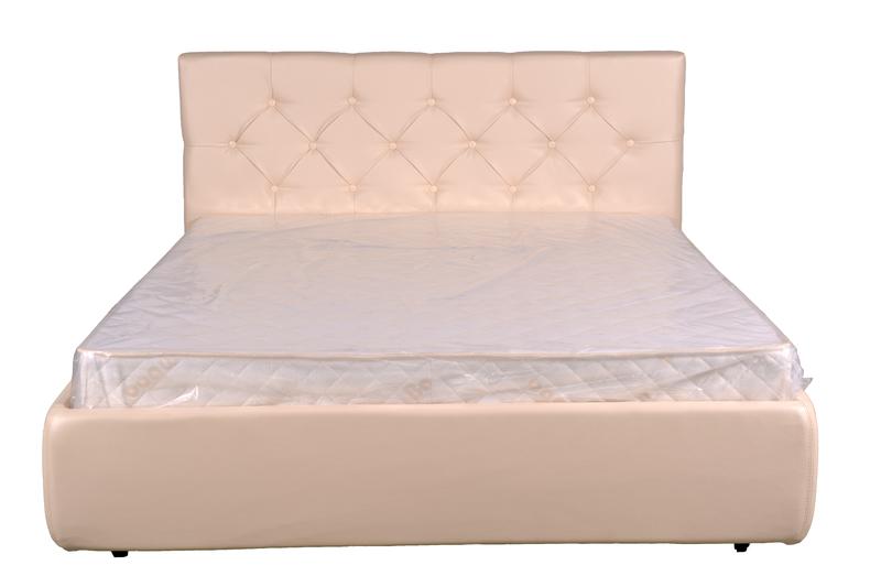 """Декоративная кровать """"Лаура"""" с подъемным механизмом и с ящиком"""